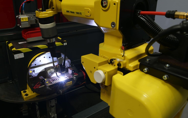 robot soudure pièce tôlerie fine aéronautique et défense - Coaéro