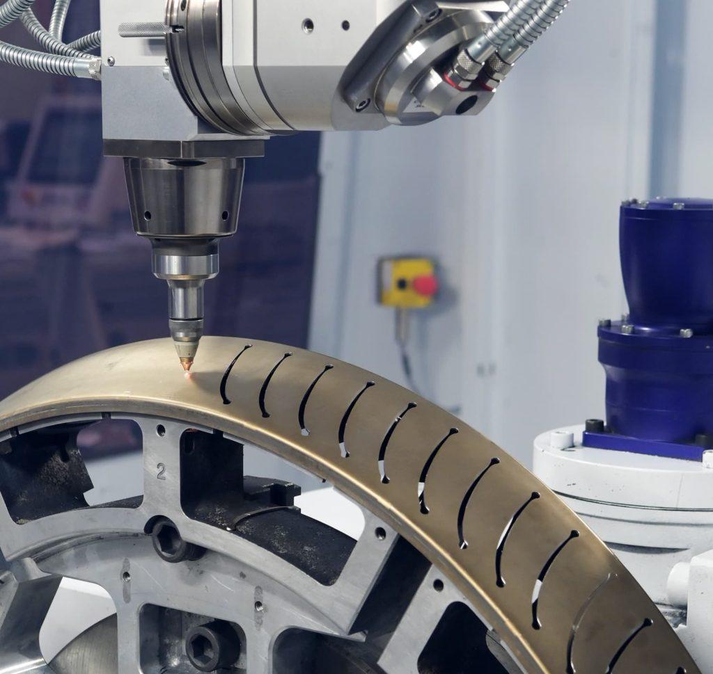 découpe laser 3D pièce tôlerie fine sur Trumpf - Coaéro